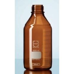 Бутыль DURAN Group 100 мл, NS14/15, узкогорлая, без пробки, бесцветное силикатное стекло (Артикул 231642407)