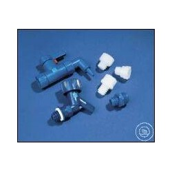 Адаптер Kautex для кранов СтопКок, LDPE, синий, поштучно (Артикул 851-83793)