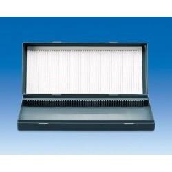 Контейнер VITLAB для хранения предметных стекол 100 позиций, PS (Артикул 80278)