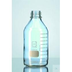 Бутыль DURAN Group 100 мл, GL45, без крышки и сливного кольца, бесцветное стекло (Артикул 218012409)