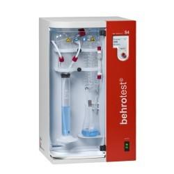 Автоматическая установка паровой дистилляции Behr S4, автоматическая подача NaOH, H2O и H3BO4 (Артикул B00218032)