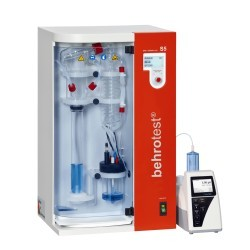 Автоматическая установка паровой дистилляции Behr S5, автоматическая подача NaOH, H2O и H3BO4 (Артикул B00218034)