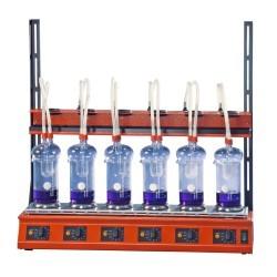 Аппарат для гидролиза или определения сырой клечатки Behr EXR 6 (Артикул B00218448)