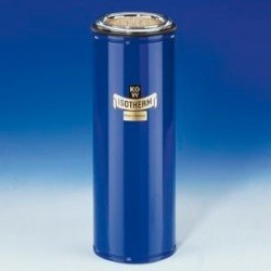 Сосуд Дьюара цилиндрический KGW-Isotherm 16C объем 2000 мл (Артикул 10218)